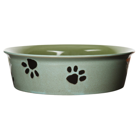 Dog Paws Large Pet Bowl