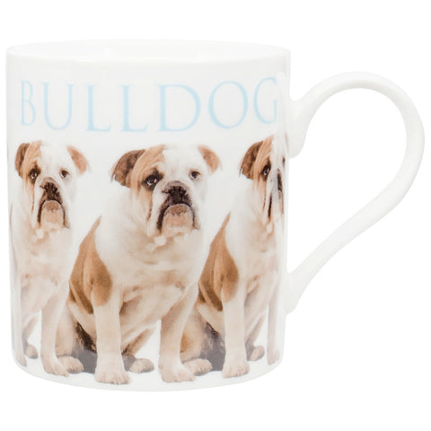 Bulldog Repeat Body Coffee Mug