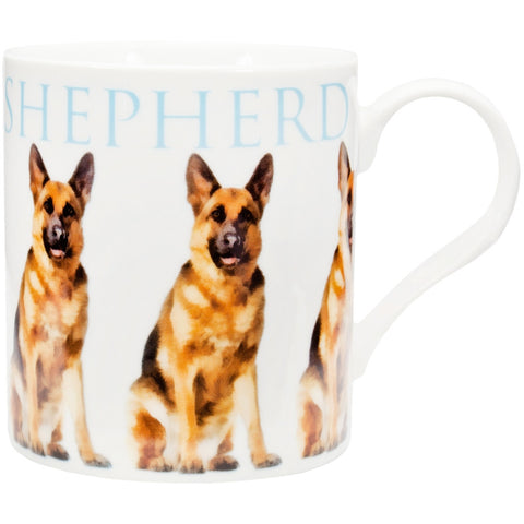 German Shepherd Repeat Body Coffee Mug