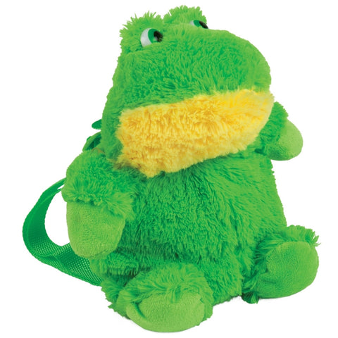 Frog Plush Mini Backpack
