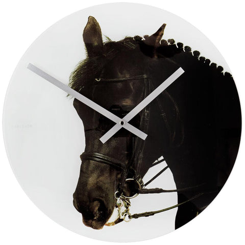 Happy Farmers Horse Wall Clock