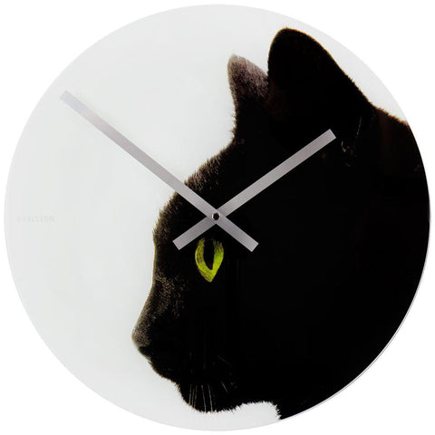 Furry Friends Kitty Wall Clock