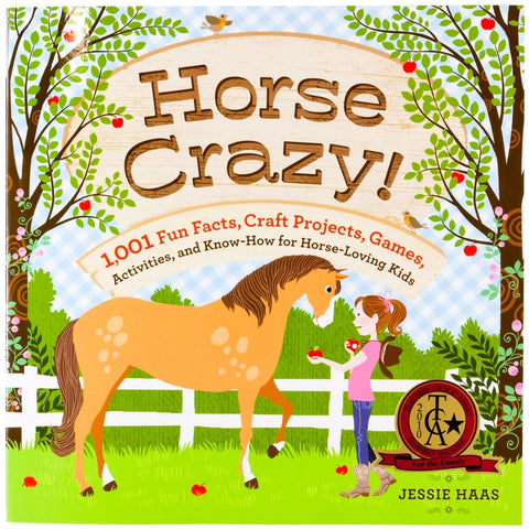 Horse Crazy Fun Facts, Craft Projects Book