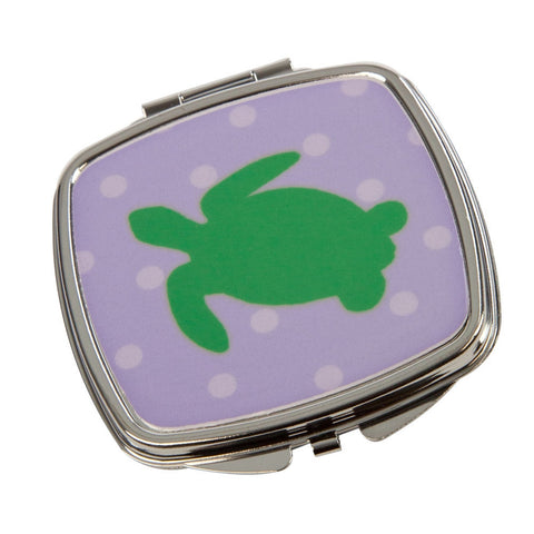 Sea Turtle Compact Mirror