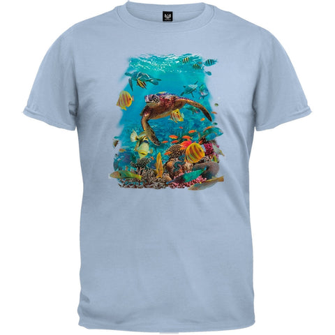 Turtle Light Blue T-Shirt