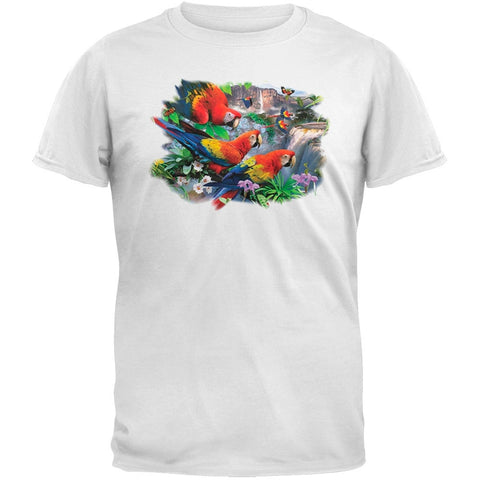 Solar Trans - Parrot's Waterfall White T-Shirt