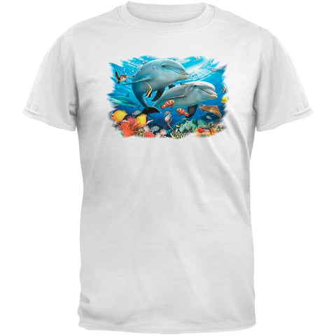 Solar Trans - Beneath the Waves White T-Shirt