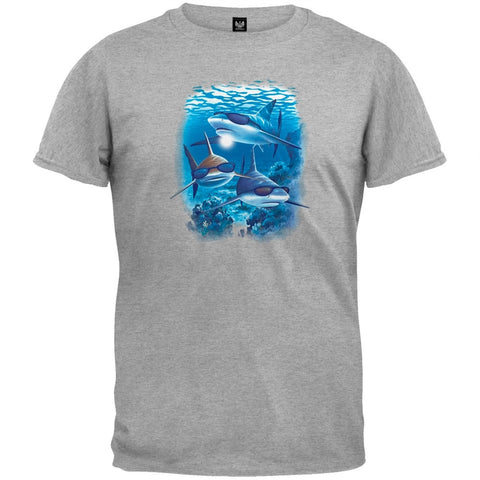 Sharks With Sunglasses Youth T-Shirt
