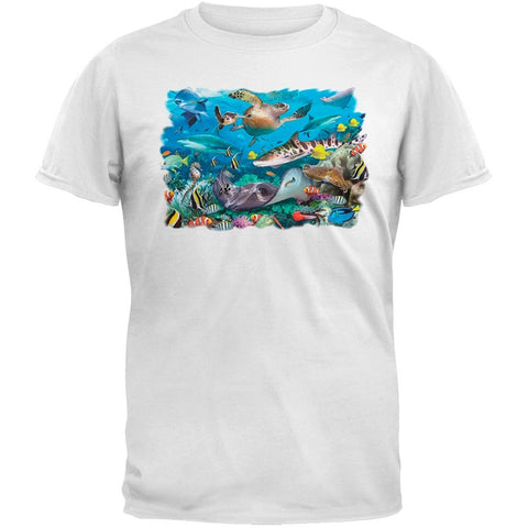 Solar Trans - Wonders of the Sea White T-Shirt