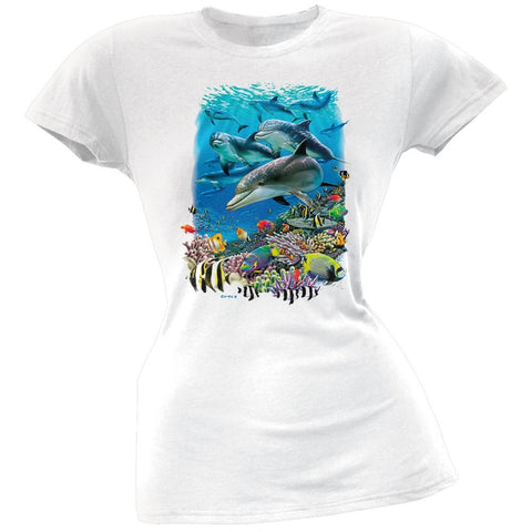 Solar Trans - The Living Sea Juniors T-Shirt