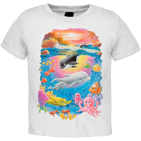 Solar Trans - Orca and Dolphin Sea Fun Youth T-Shirt