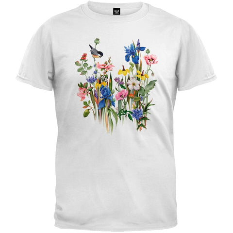 Country Garden White T-Shirt