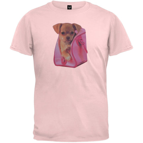 Puppy In Pink Youth T-Shirt