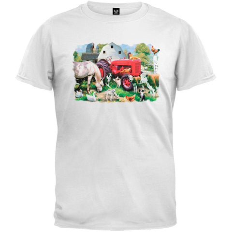 Meadow Farm White T-Shirt