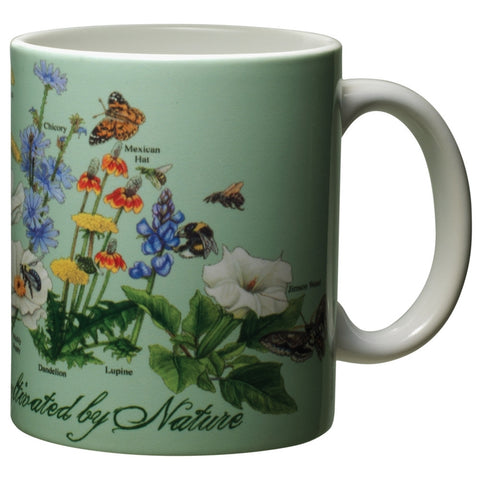 Uncultivated By Nature White Ceramic Mug