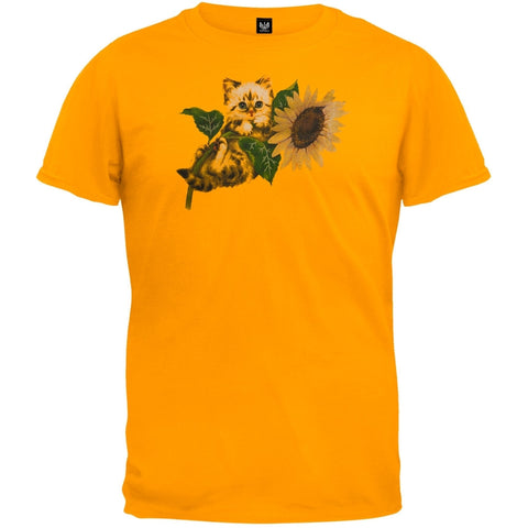 Sunflower Girl Orange T-Shirt