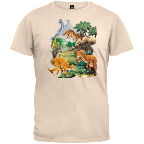 Dinosaurs 2 Off-White T-Shirts