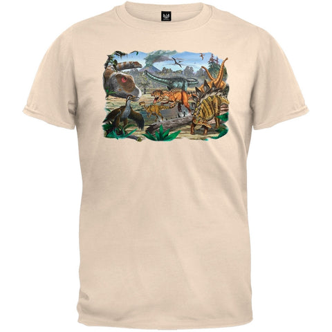 Dinosaur Fun Off-White T-Shirt