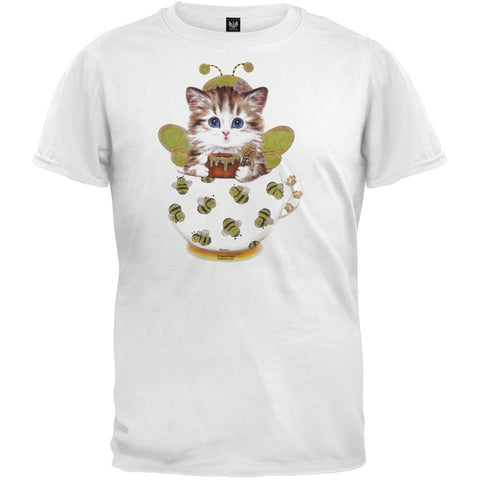Cup Kitty Bee Youth T-Shirt