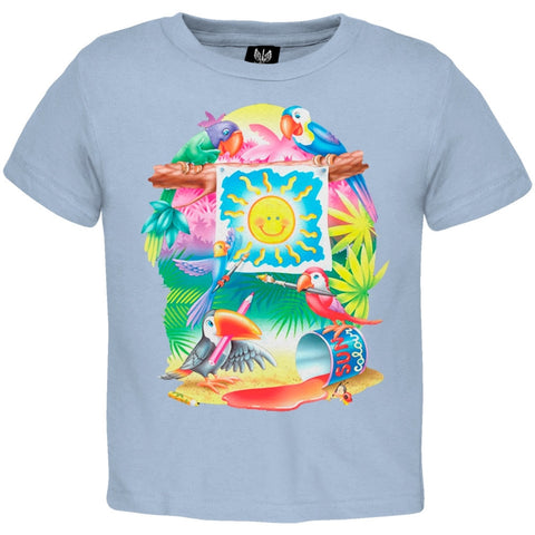 Painting Parrots Youth T-Shirt