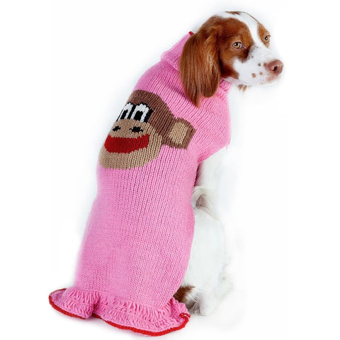 Monkey Skirt Dog Sweater