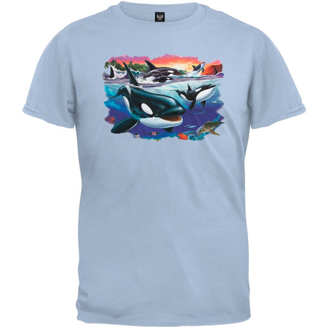Orcas And Babies Youth T-Shirt