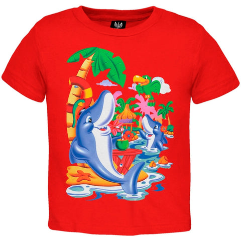 Chillin Dolphins Youth T-Shirt
