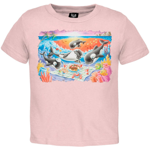 Whale Picnic Youth T-Shirt