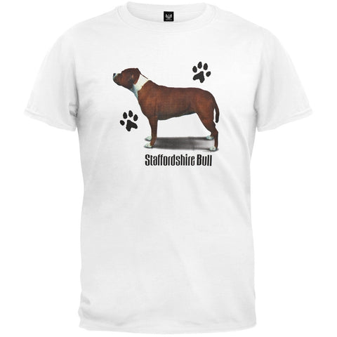 Stafford Bull Profile White T-Shirt