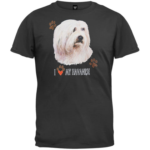 I Paw My Havanese Black T-Shirt
