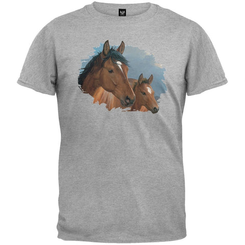 Evening Breeze Heather Gray T-Shirt