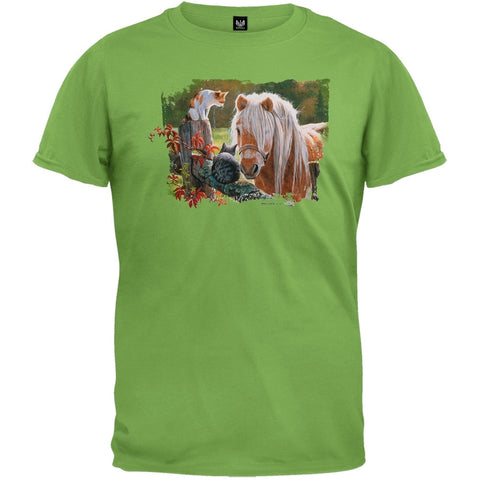 Just Visiting Green T-Shirt
