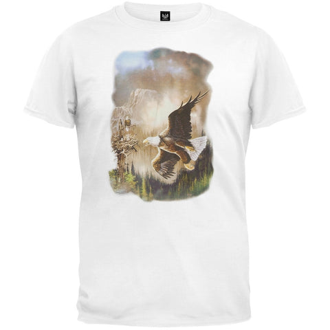 Eagle Rest White T-Shirt