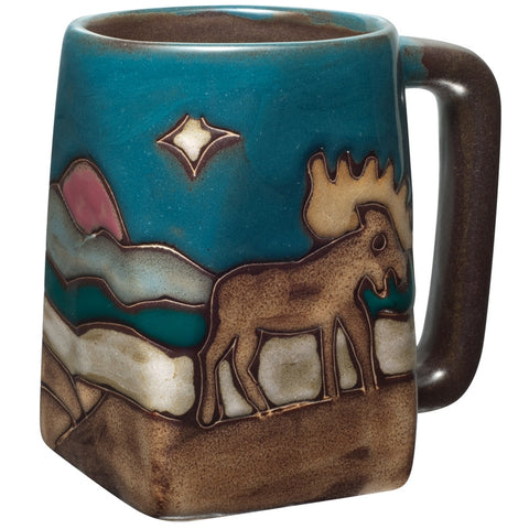 Moose Square Bottom Mug
