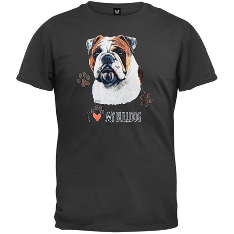 I Paw My Bulldog T-Shirt
