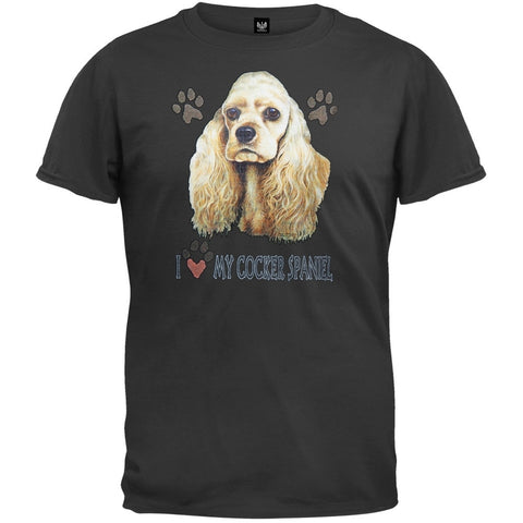 I Paw My Cocker Spaniel T-Shirt