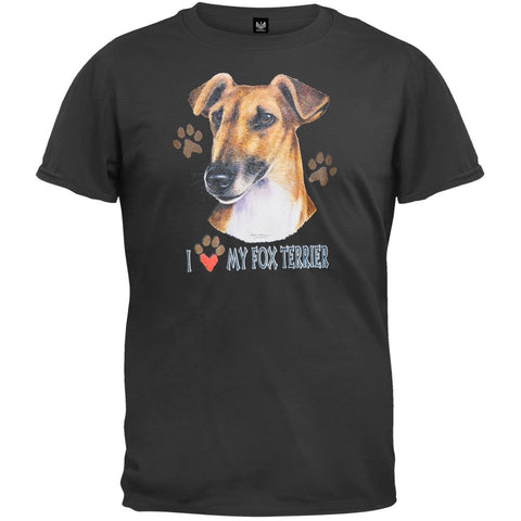 I Paw My Fox Terrier T-Shirt