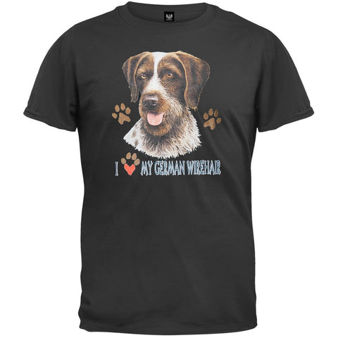 I Paw My German Wirehair T-Shirt