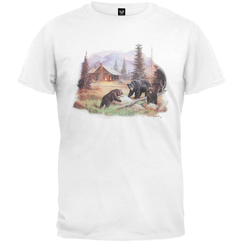 Lodge Bear Family T-Shirt