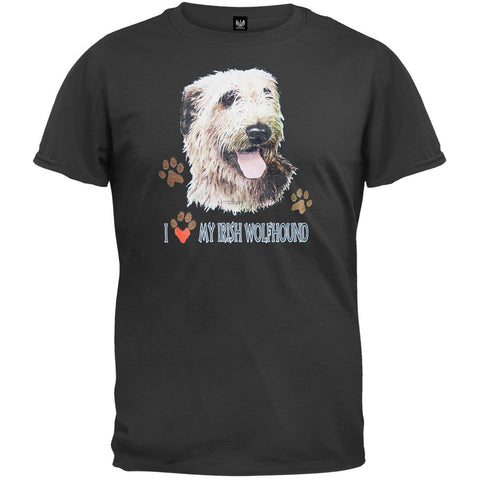I Paw My Irish Wolfhound T-Shirt