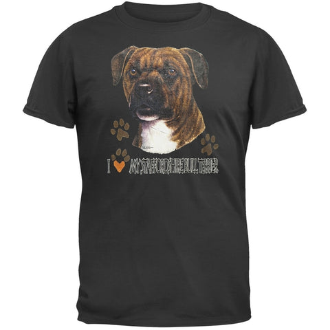 I Paw My Staffordshire Bull Terrier T-Shirt