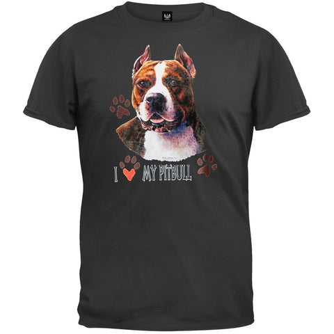 I Paw My Pitbull T-Shirt
