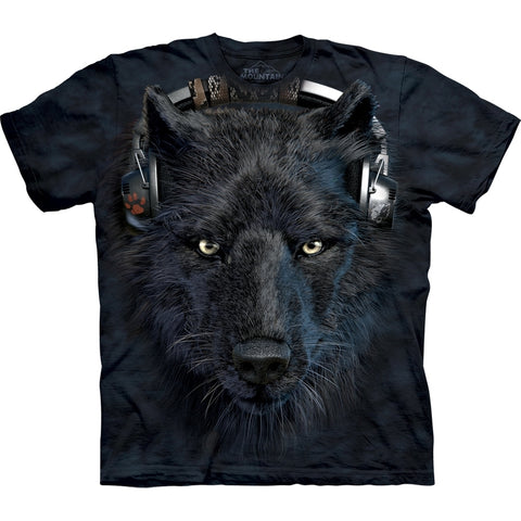 Wolf DJ Night T-Shirt