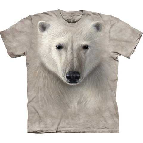 Polar Bear Face Close-Up T-Shirt