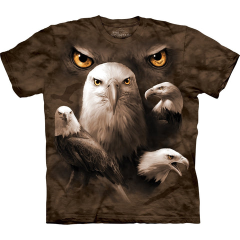 Eagle Moon Eyes Collage T-Shirt