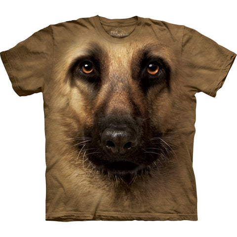 German Shepherd Face T-Shirt