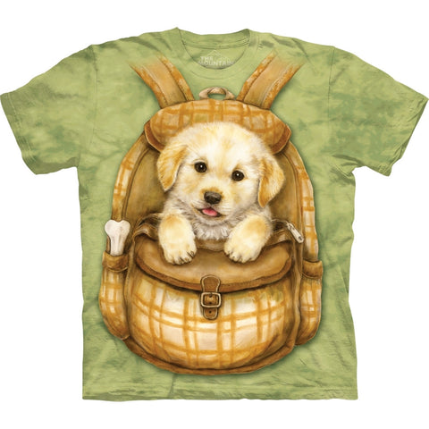 Puppy in Backpack T-Shirt