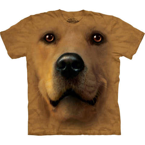 Golden Retriever Face T-Shirt