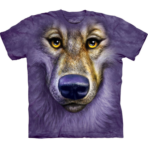 Wolf Friendly Face T-Shirt