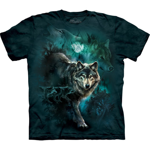 Wolves Walking in the Night T-Shirt